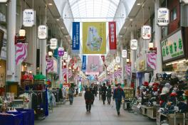 Hakata-Kawabata Street shopping is a fun spot