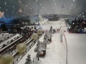 Indoor Ski play land!