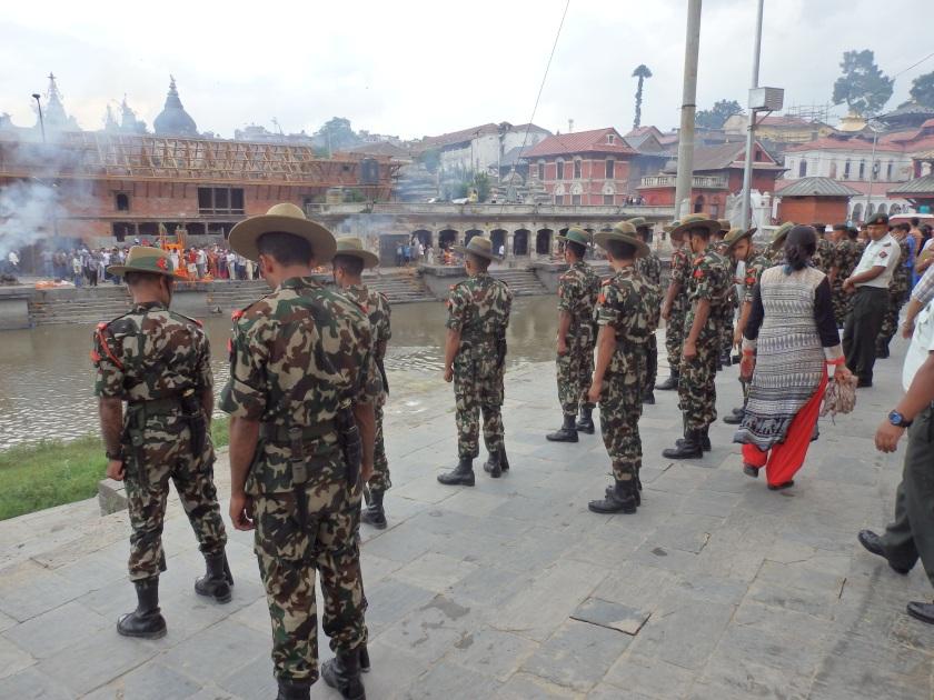Nepanese Army Solders