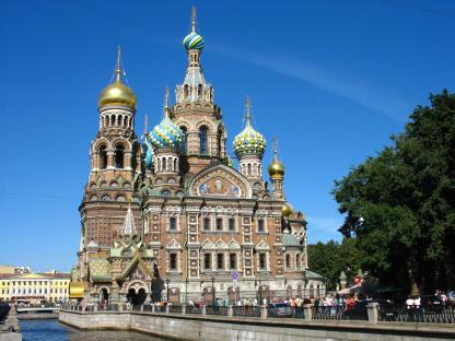 Russia-Church of the Spilled Blood