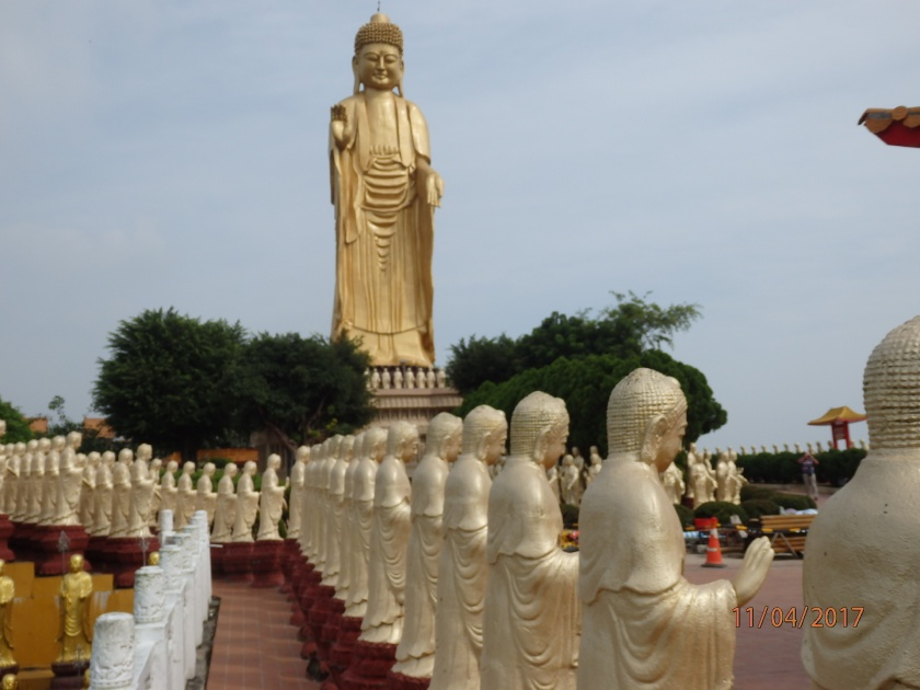 The Fokuangshan Monastery.