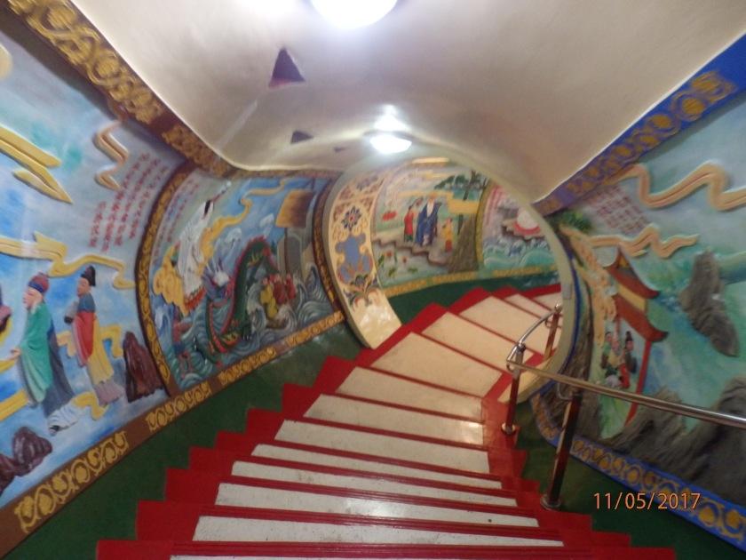 Inside Tzu-Chi Temple