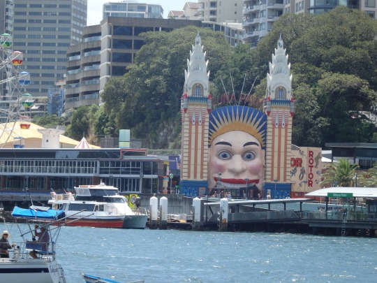 Luna Park from the Ferry