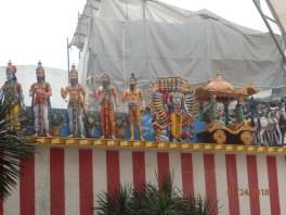 Sri Srinivasas Perumal Temple was under construction